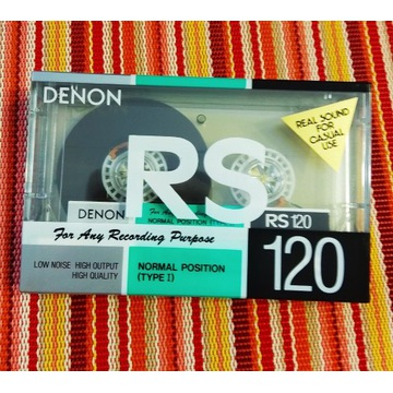 DENON RS 120 min. Japońskie wydanie. 1szt.