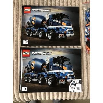 Lego Technic betoniarka 42112
