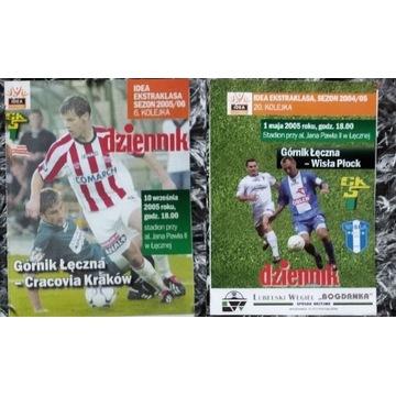 Program Górnik Łęczna Cracovia Wisła Płock 2005
