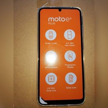 Nowa Motorola e6plus 64 GB Etui gratis.