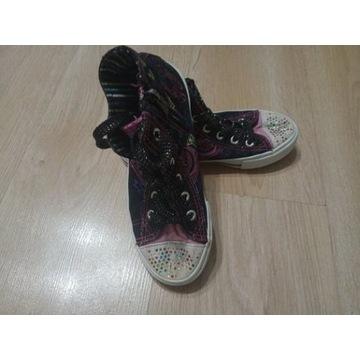 Buty trampki dziewczęce rozmiar 34