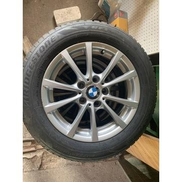 """Komplet felgi BMW f30 5x120 16"""" z oponami zima"""