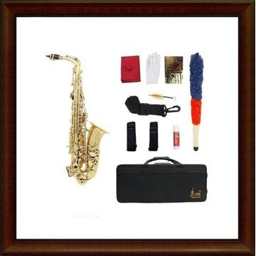 Nowy saksofon altowy  S&S Slade złoty M121