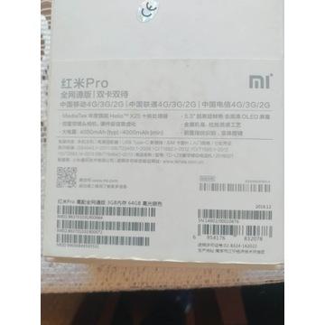 Xiaomi Redmi Pro uszkodzony