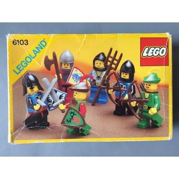 LEGO 6103 Castle Black Falcons Forestmen Lion Knig