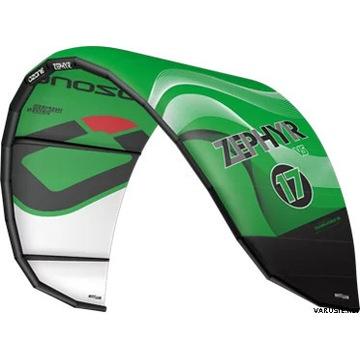 Latawiec OZONE Zephyr V5 Green 17m kitesurfing 19r
