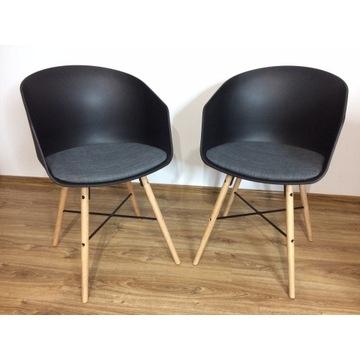 Krzesło Kalvehave- Jysk nowe 2szt