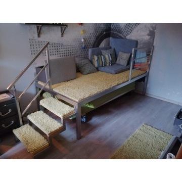 Podest, łożko do pokoju młodzieżowego, oryginalne!