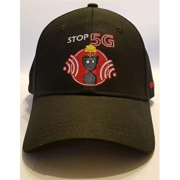 STOP 5G Czapka z Daszkiem_Wyraź swój sprzeciw