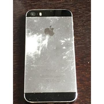 Iphone 5S 16GB+szkło pęknięte hartowane koło home.