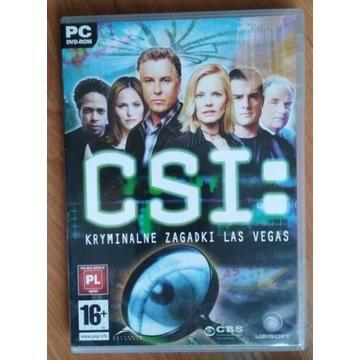 """Gra PS """"CIS: kryminalne zagadki Las Vegas"""""""