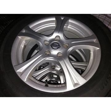 Koła Opony Zimowe Felgi Alum. Nissan 215 65 17