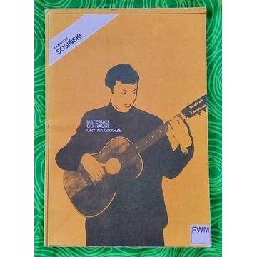 Materiały do nauki gry na gitarze K. Sosiński