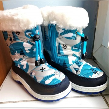 Śniegowce Martes- Bearis Kids, rozm. 27