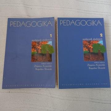 Podręcznik akademicki Pedagogika cz.1 i 2 PWN