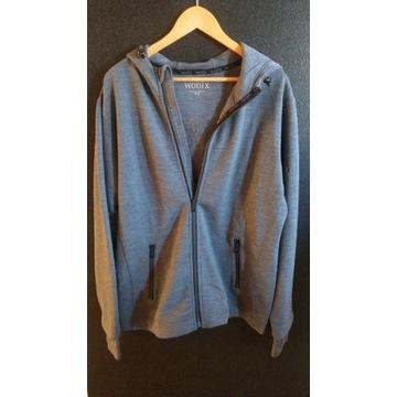 Bluza z kapturem 100% Merino Wool  400g/m