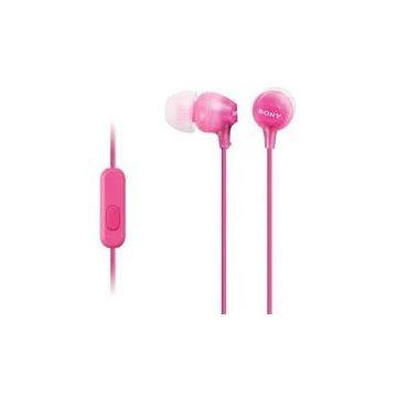 Słuchawki Sony MDR-EX15AP rózowe