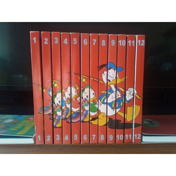 Komiks GIGANT 1998 Disney Donald komplet + gratis