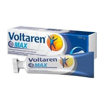 Voltaren Max, 23,2 mg/g, żel, 100 g.