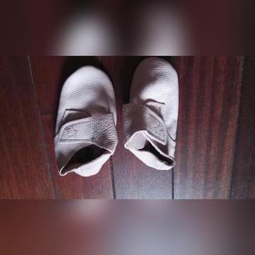 Buty, buciki, niechodki skórzane r.18/19 Lupilu