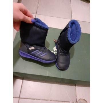Adidas Buty Zimowe Sniegowce Ocieplone 25,5