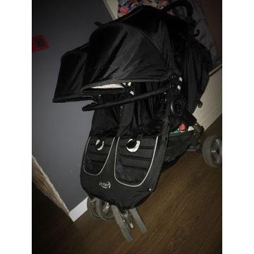 Wózek Baby Jogger City Mini Double + pałąk GRATIS.