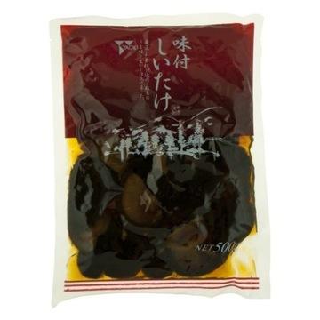 Grzyby Shitake Ajitsuke połówki w słodkiej zalewie