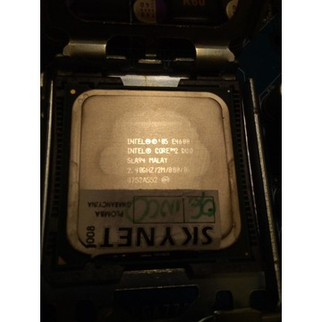 procesor intel core 2 duo 2,4