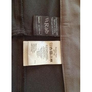 """Spodnie softshellowe RAB Exodus Pants 34""""/86cm"""