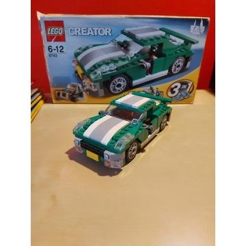 Lego 6743 Samochód Sportowy + pudełko + instrukcja