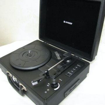 Gramofon Hykker Vintage Sound w walizce jak nowy