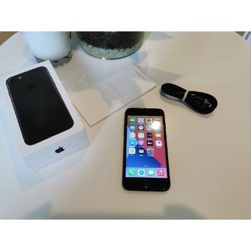 iPhone 7 Black 32gb w 100% sprawny bardzo ładny !