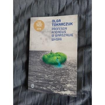 Olga Tokarczuk Profesor Wyspa - AUTOGRAF!