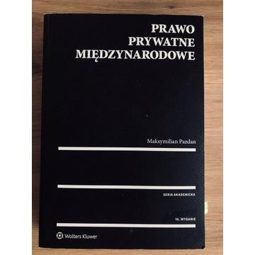 Prawo prywatne międzynarodowe, M. Pazdan 2017