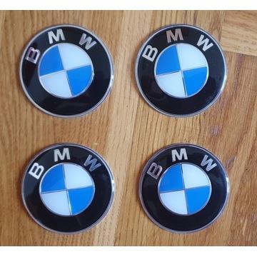 Emblemat BMW-aluminiowy 65mm 4 sztuki