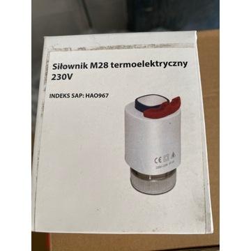 Siłownik termoelektryczny M28 230v HAO967 Salus