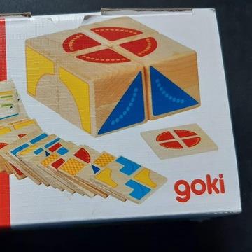 Układanka geometryczna - Kubus, Goki