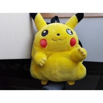 Plecak pluszowy Pikachu / Nintendo / Pokemon /90's