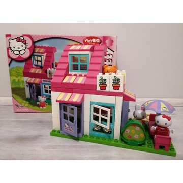PlayBIG BLOXX Klocki Domek Hello Kitty jak Duplo
