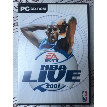 NBA LIVE 2001 (Polskie wydanie) - Premierowe PC