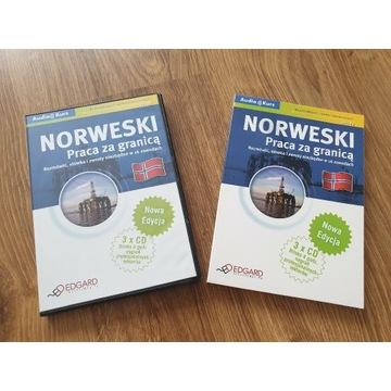 Kurs nauki norweskiego książka + cd