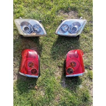 Oryginalne lampy Toyota Avensis