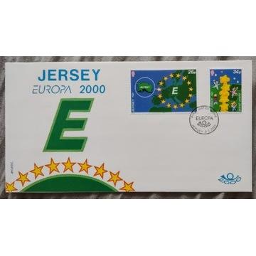 Jersey Europa 2000 1xFDC