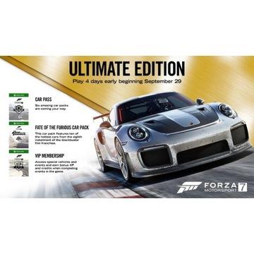 Forza Motorsport 7 Ultimate Edition PC/Xbox