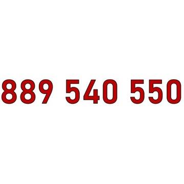 889 540 550 ZŁOTY NUMER T-MOBILE