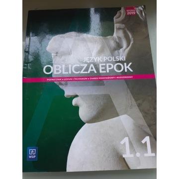 Oblicza Epok 1.1 podręcznik do języka polskiego