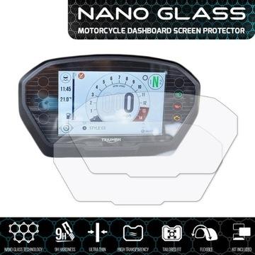 Szkło ochronne na licznik SpeedTriple NanoGlass 9H