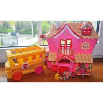 Mini Lalaloopsy domek + autobus