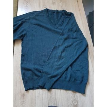 Sweter męski rozmiar L kolor ciemno zielony