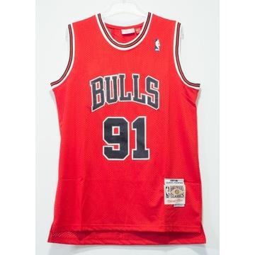 Koszulka NBA, koszykówka, Chicago Bulls, Rodman, L